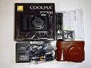 【中古】Nikon デジタルカメラ COOLPIX P7700 大口径レンズ バリアングル液晶 ブラック P7700BK