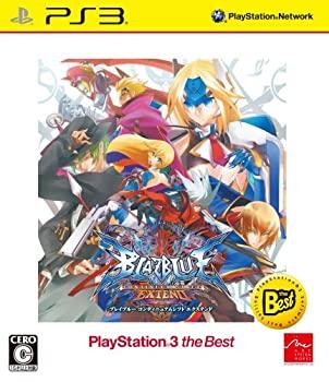【中古】BLAZBLUE CONTINUUM SHIFT EXTEND PlayStation(R)3 the Best - PS3画像