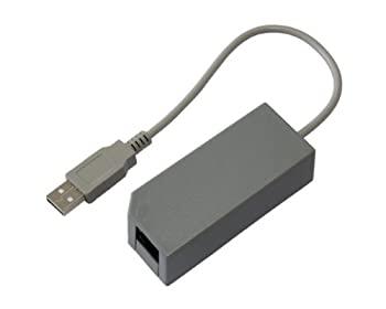 【中古】任天堂 Wii U / Wii 共用 LAN ADAPTER / 有線LANアダプター-537256画像