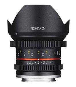 【中古】Rokinon Cine cv12?m-fx 12?mm t2.2?Cineレンズfor Fujifilm x-mountカメラ
