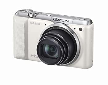 【中古】CASIO デジタルカメラ EXILIM EXZR850WE 1610万画素 Wi-Fi機能搭載 インターバル撮影 光学18倍ズーム EX-ZR850WE ホワイト