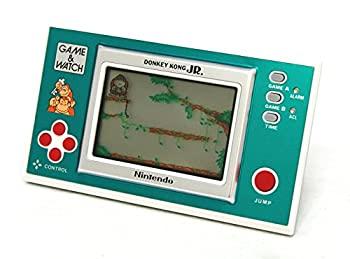 【中古】任天堂 Nintendo DJ-101 ドンキーコングジュニア(DONKEYKONG JR.) GAME&WATCH ゲーム&ウォッチ(ゲームウォッチ)ニューワイド画像
