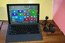 【中古】マイクロソフト 【期間限定】Surface Pro 3(Core i5/128GB)+ 純正タイプカバー(ブラック) [Windowsタブレット・Office付き]の商品画像