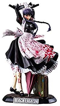 【中古】BLACK LAGOON ロベルタ -血まみれver.- 1/6スケール ポリストーン製 塗装済み完成品フィギュア画像