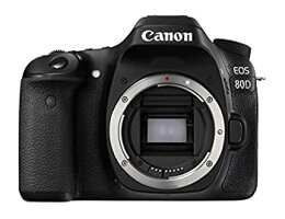 【中古】Canonデジタル一眼レフカメラEOS80DボディEOS80D