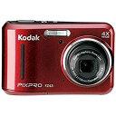 【中古】コダック コンパクトデジタルカメラKodak PIXPRO FZ43RD (レッド)