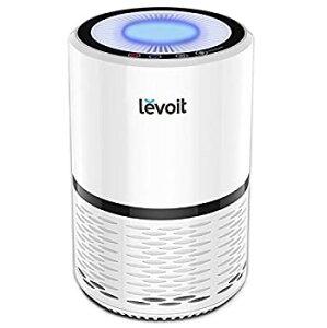【中古】LeVoit空気清浄機Filtration with True HEPAフィルタ、コンパクト臭気Allergenエリミネータークリーナー喫煙者のホーム、ペット、料理、lv-h132