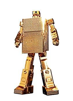 【中古】超合金魂 黄金戦士ゴールドライタン GX-32R ゴールドライタン 24金メッキ仕上げ 約130mm(ロボ形態時) ABS&PVC&ダイキャスト製 塗装済み可動フィ画像