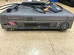 """【中古】SONY WV-ST1 S-VHSハイファイ/ステレオハイエイト""""ダブルビデオ"""""""
