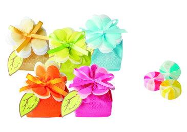 【プチギフト】フルールフルーツキャンディー カラフルな花のような幸せを♪