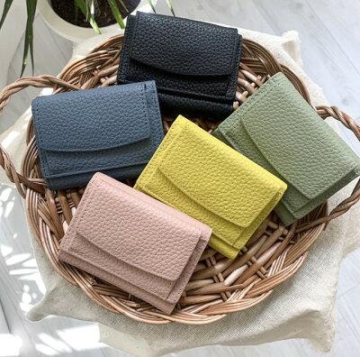 シンプルでかわいいミニ財布