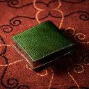 【伝統職人】【COCOMEISTER(ココマイスター)】ロッソピエトラ・二つ折り財布
