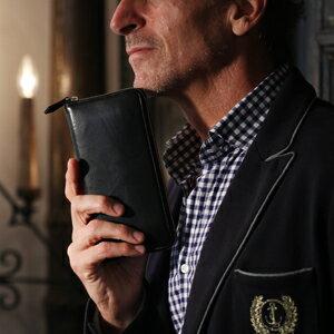 【伝統職人】【COCOMEISTER(ココマイスター)】マットーネ・ラージウォレット イタリア千年の歴史を誇る長財布 紳士者 メンズ