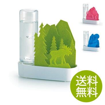セキスイ 気化式加湿器 うるおい ちいさな森 | 送料無料 送料込 気化式 加湿器 かわいい エコ 子供部屋 SEKISUI 積水樹脂