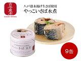 【送料無料】【古今東北】八戸港水揚げ生鯖使用さば水煮缶×9