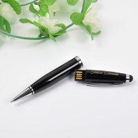 【レビューで送料無料】BizSign名入れ無料ビジネス用品ボールペン型USBメモリブラック【HLS_DU】【RCP】