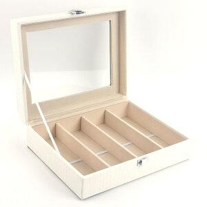 GlassShell メガネコレクションケース ホワイト