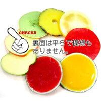 食べちゃいそうなフルーツコースター(メロン、パイナップル、スイカ、リンゴ、グレープフルーツ)【食品サンプルコースター】