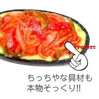 ビストロ・ココナッツ鉄板ナポリタンスパゲティ【食品サンプルキーホルダーストラップマグネット】
