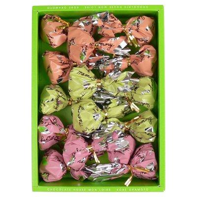 母の日間に合います モンロワールリーフメモリーギフトボックス15個入リーフチョコレートスイーツ葉っぱ詰め合わせ個包装小分けばら