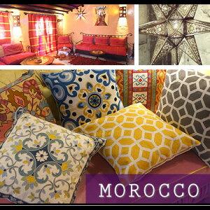 モロッコテイスト クッション カラフル モロッコ エスニック ヨーロピアン
