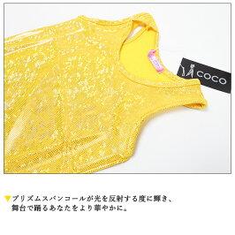 PRINCESSCOCO★プリズムスパンコール☆DANCESTYLEタンクトップ(CJTE-02)