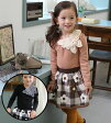 ¥2000アイテム・のモチーフが大人っぽい♪フォーマルにもお出かけにもぴったりな長袖Tシャツ◎90cm・100cm・110cm・120cm・130cm・ 韓国子供服