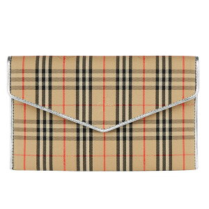 Burberry London Burberry Pouch Ladies accessory case check pattern [free shipping] Brand Burberry genuine retail store Direct import from outlet stores