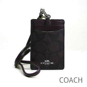 958685f2d5fc コーチ(COACH). コーチ COACH IDケース レディース ネックストラップ 定期入れ パスケース カード ...
