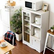 キッチン おしゃれ アンティーク シンプル ホワイト アンティークデザインレンジボード