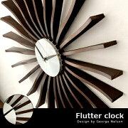 掛け時計 おしゃれ おすすめ クロック ウォール ジョージ ネルソン ミッドセンチュリー シンプル フラッタークロック
