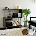【クーポン配布中】 ラック 木製 収納棚 ディスプレイ 北欧 シンプル...