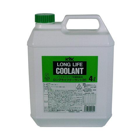 古河薬品工業:ロングライフクーラント (JIS)緑 4L 6本入り 54-004