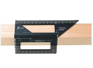 シンワ測定:シンワ測定 一発止型定規 ポリカーボネート   62112