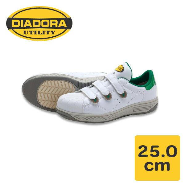 DONKEL(ドンケル):ディアドラ モア ホワイト/グリーン MO16 25.0cm