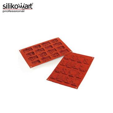 シリコマート:クリスマスチョコタグ SF146( 16ヶ取) 0558470