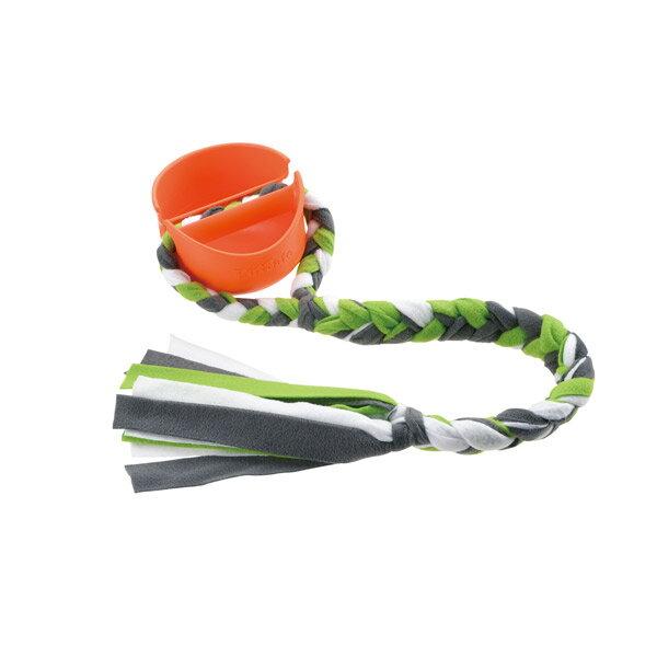 リッチェル:ビジーバディ グリッピンタグ オレンジ 犬 おもちゃ 玩具 ロープ 知育 コミュニケーション トイ