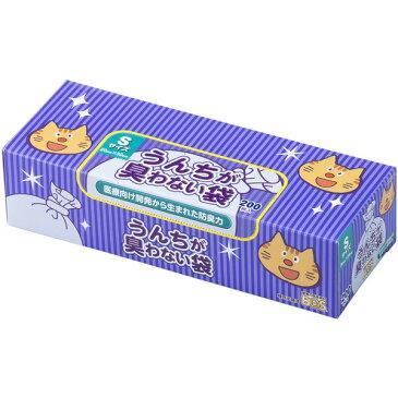 クリロン化成:うんちが臭わない袋 BOS ネコ用 箱型Sサイズ 200枚入