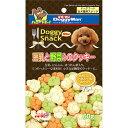 ドギーマンハヤシ:ドギースナックバリュー 豆乳と野菜入のクッキー 60g 犬 おやつ 間食 スナック ドギーマン ジャーキー