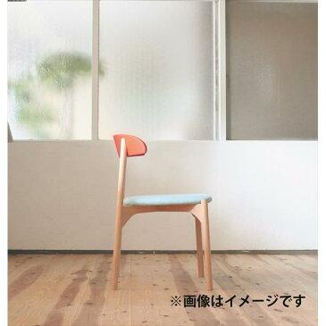 【後払い不可】【代引不可】【受注生産品】創生商事:bokuno Chair 41.5cm レッド×ナチュラル BC-436