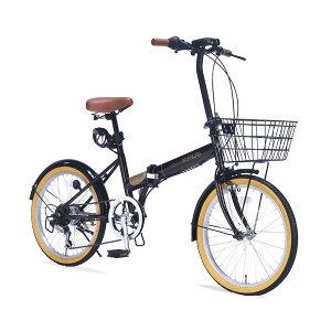 MyPallas(マイパラス):折りたたみ自転車 20インチ 6段変速 オールインワン ブラウン 【ポイント10倍】アウトドア 折畳 コンパクト