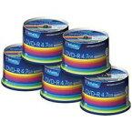 三菱化学メディア:データ用DVD-R 250枚(50枚5) DHR47JP50V3C 381478