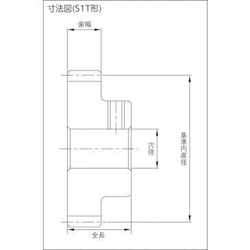 KHK 平歯車BSS0.8-20B BSS0.820B 8564535
