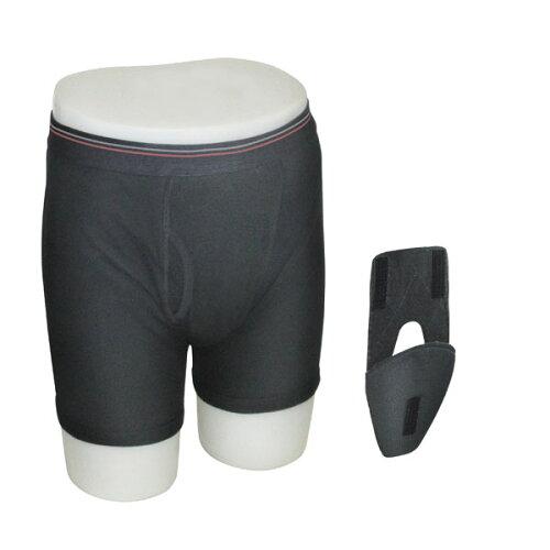 パアグ:尿モレ対応 紳士用下着 ホールイン・パンツ XLサイズ P13HP05K-XL