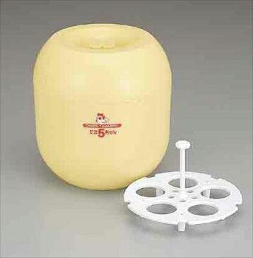 【後払い不可】スギコ産業:温泉たまご器 たま5ちゃん A-16021