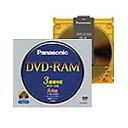 パナソニック:データ用DVD-RAM(カートリッジタイプ) TYPE4 9.4GB 2-3倍速 LM-HB94L 1枚 0290654