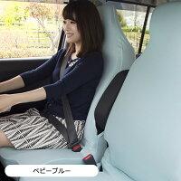 運転席・助手席・後部座席対応の左右独立型リフィットシートカバー・2枚組