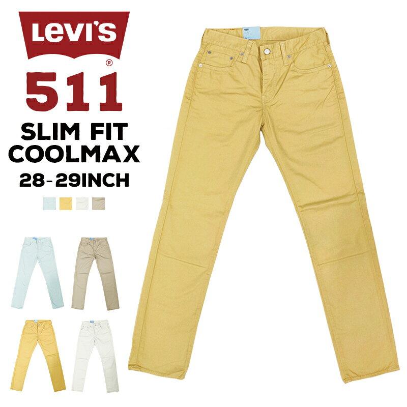 メンズファッション, ズボン・パンツ  LEVIS 04511-12L 511 SLIM FIT COOLMAX Levis