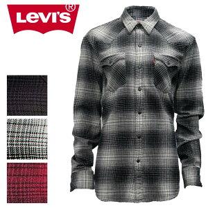 リーバイス メンズ トップス LEVIS ウエスタン ネルシャツ 66986A | かっこいい おしゃれ Levi's levis levi's LEVI's アメリカン シャツ カジュアル 大きいサイズ コットン100% やわらかい 長袖 ロングスリーブ 秋 冬 シンプル チェック柄 男性