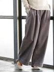 coen 【『VERY』10月号掲載・『LEE』11月号掲載】コーデュロイワイドパンツ コーエン【送料無料】